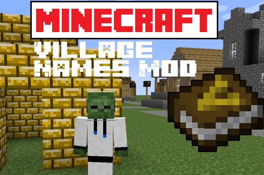 Village Names Mod 1.15.2 1.12.2