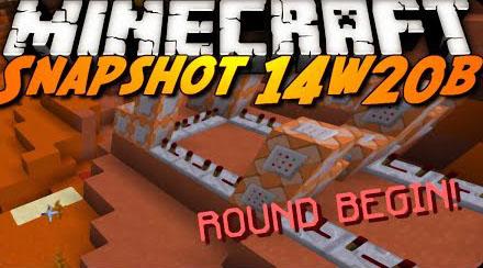 Minecraft Snapshot 14w20b