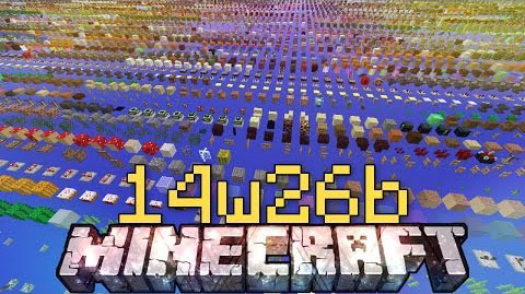 Minecraft Snapshot 14w26b