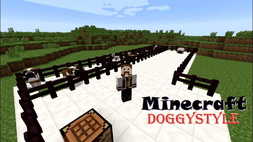 DoggyStyle Mod  1.8.9|1.7.1