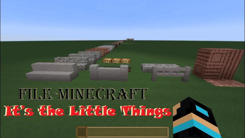 It's the Little Things Mod  1.15.2|1.12.2