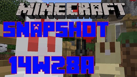 Minecraft Snapshot 14w28a