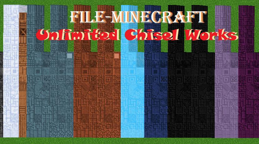 Unlimited Chisel Works Mod  1.15.2|1.12.2
