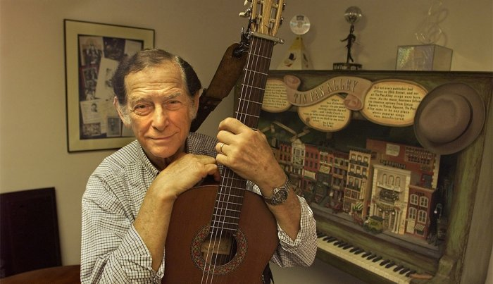 Oscar Brand, musician, 96
