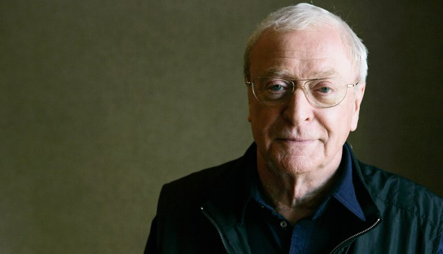 Michael Caine poses for a portrait (CAROLYN KASTER/AP)