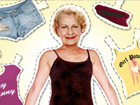 Paper-dol-like illustration of clothes 50 plus woman should not wear