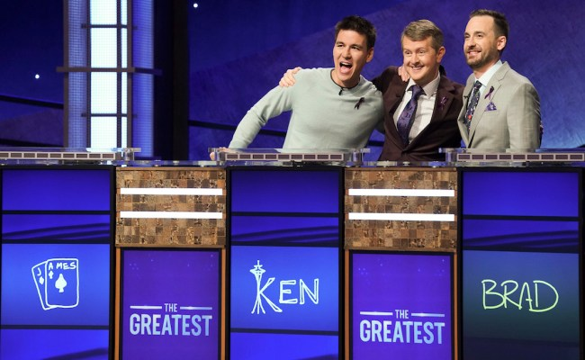 3 All Time Champs Compete In Jeopardy Tournament