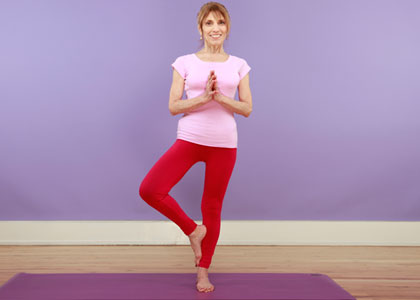 Image result for tree pose beginners