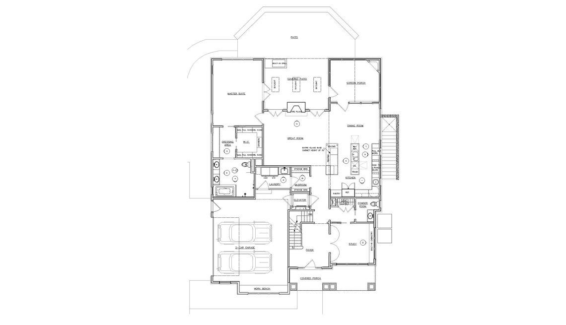 First Floor, Floorplan, Residence, Drawing, Livable
