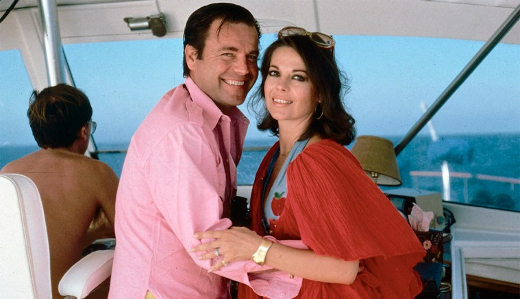 Image result for natalie wood and bob wagner on their yacht