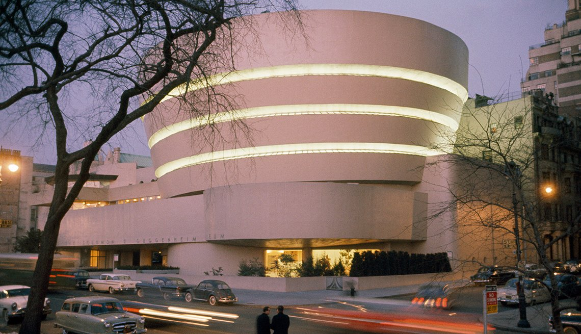 Guggenheim Museum  Edificios incomparables en Estados Unidos