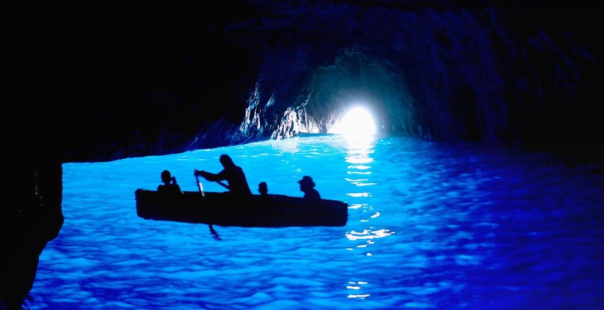 Image result for Blue Grotto in Capri
