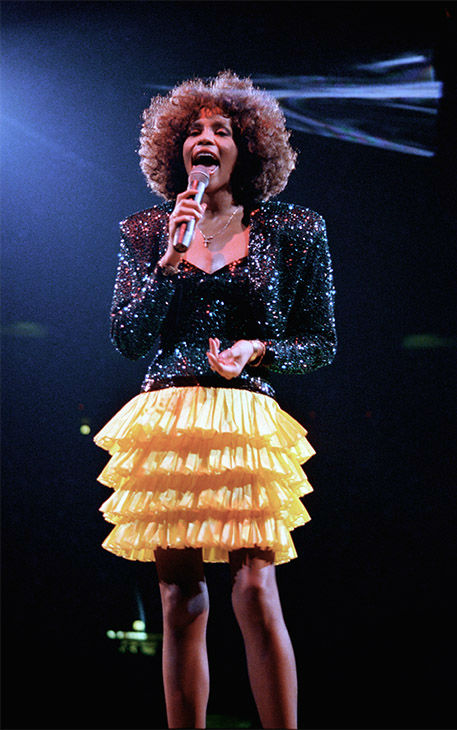 Sept. 1987: Houston performs at New York's Madison Square Garden. <span class=meta>Photo/AP Photo</span>