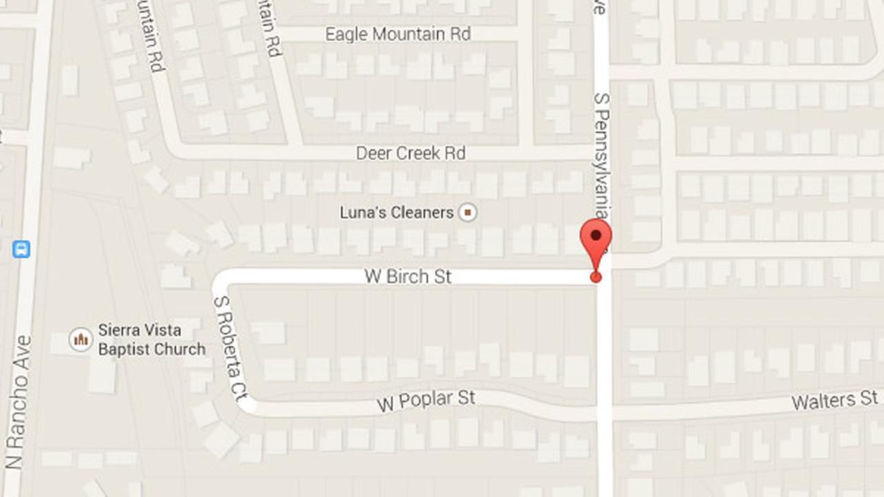 Gang member shot after pointing shotgun at San Bernardino