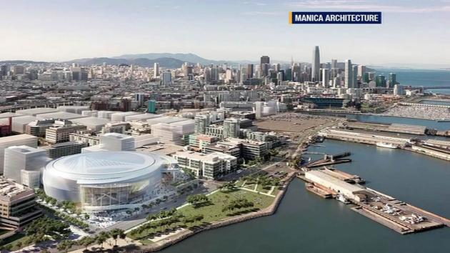 Update given on Warriors' San Francisco arena plans