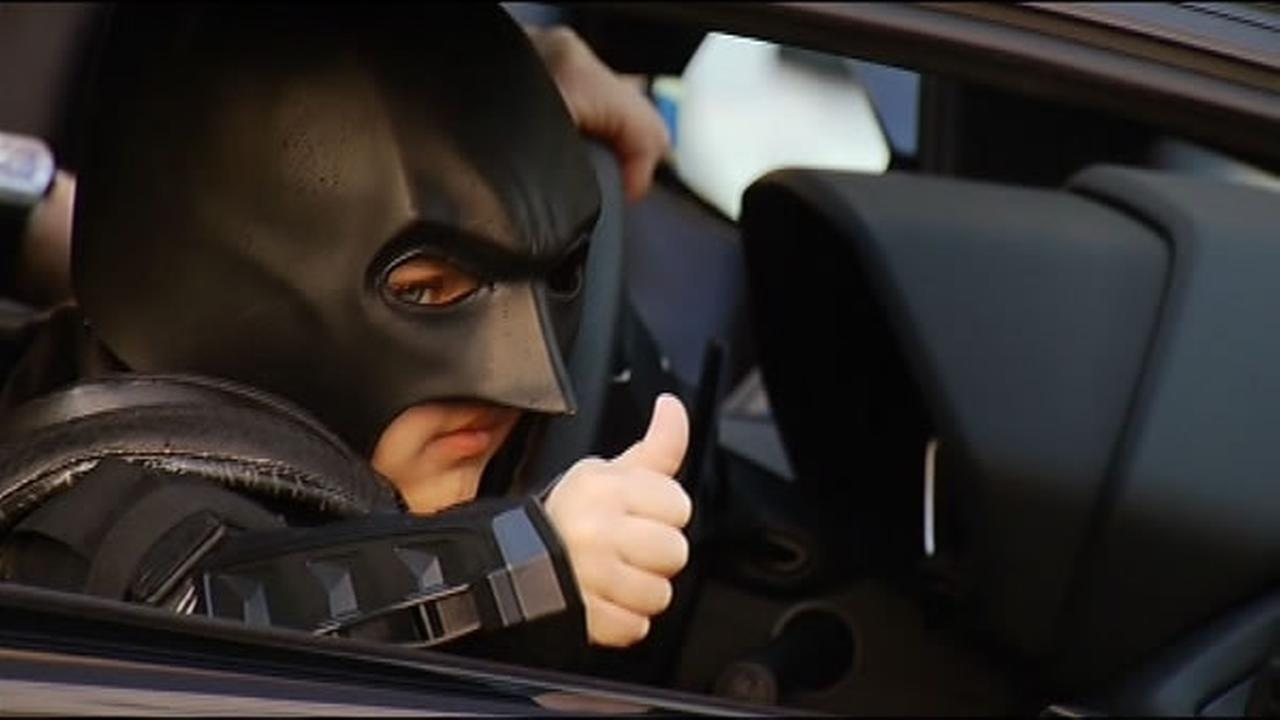 San Francisco Becomes Gotham City For 5 Year Olds Batman Make A Wish