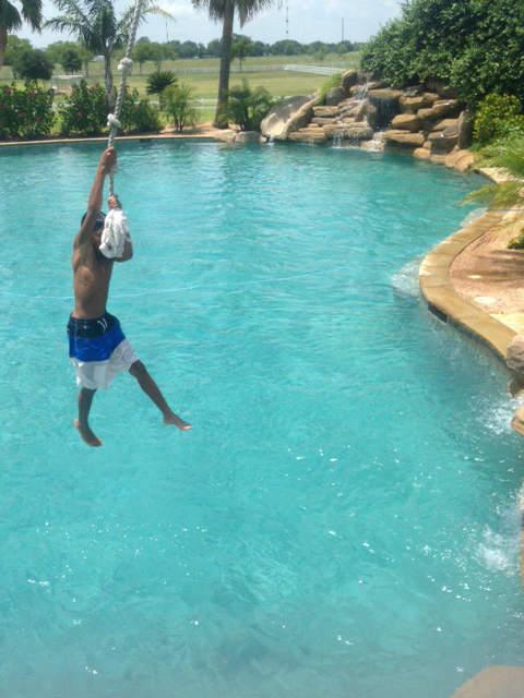Take a tour inside the world's largest backyard pool