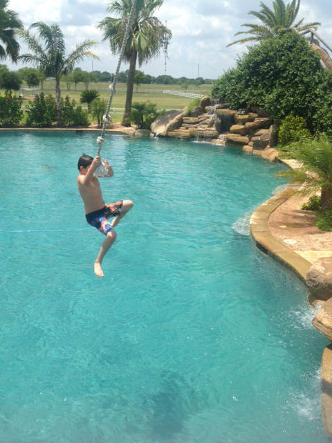 Take a tour of the world's largest backyard pool