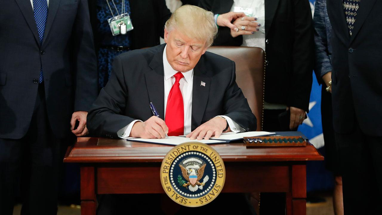 Image result for trump muslim ban executive order