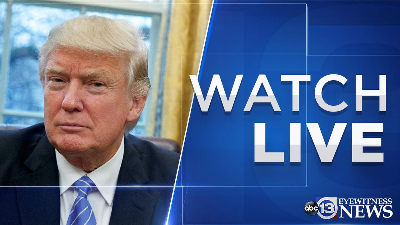 Watch Live Trump Announces Strikes Against Syria After