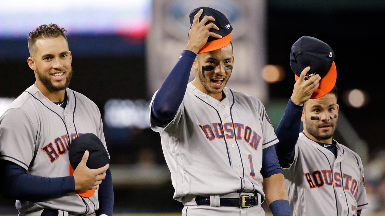 Image result for houston astros correa springer altuve