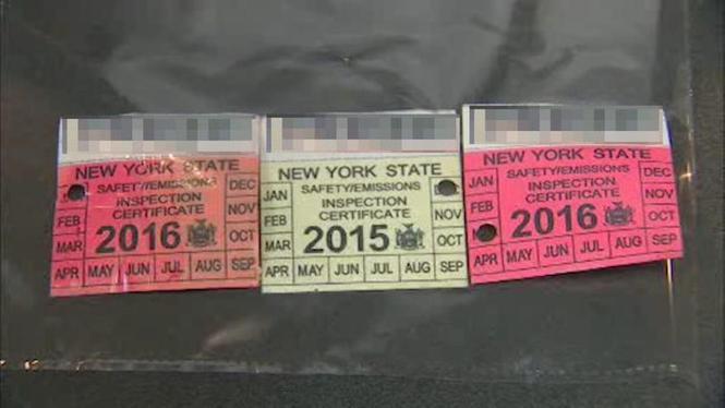 New York State Car Registration Sticker Impremedia