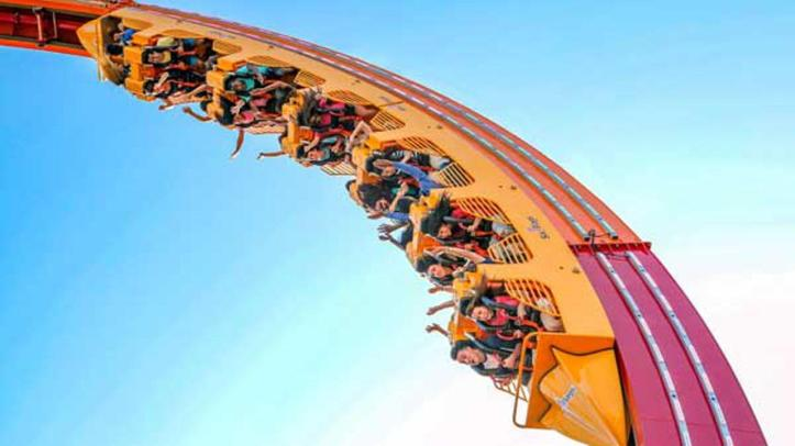 Image result for world's largest loop coaster great america