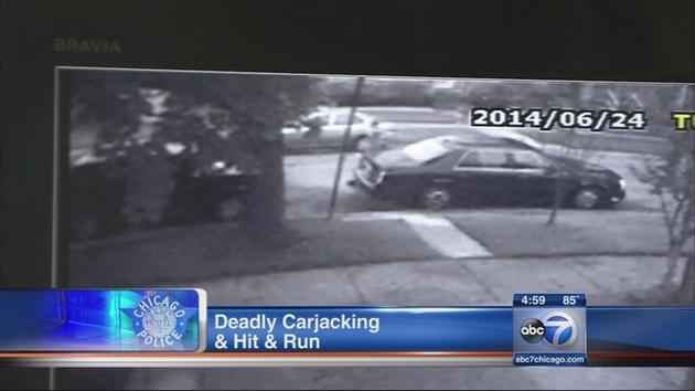 Woman killed after being dragged by carjacker