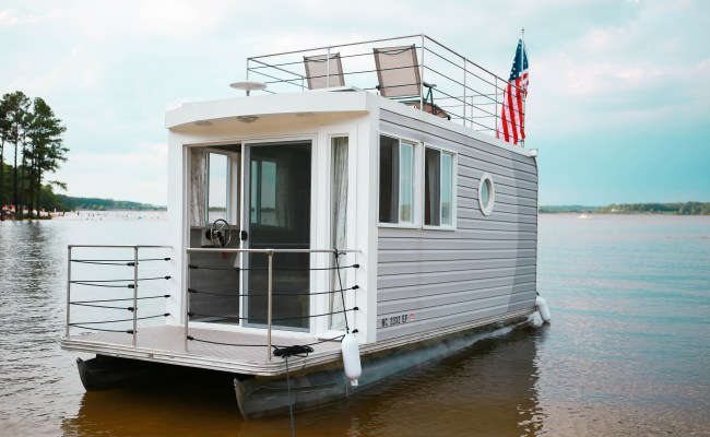 Ever Heard Of A Tiny Houseboat You Can Rent One At Jordan