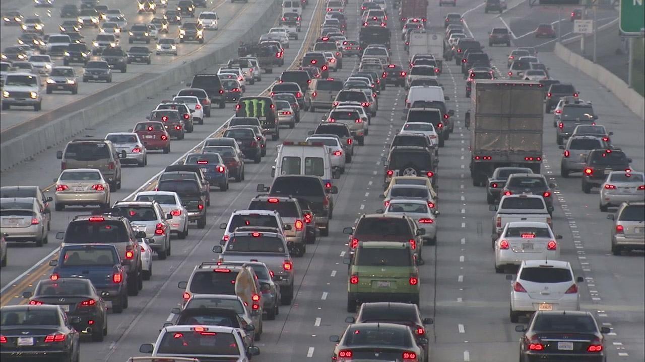 2x6 voies saturées à Los Angeles