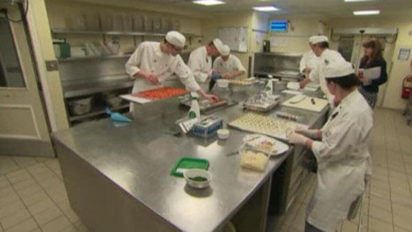 Royal wedding Buckingham Palace kitchen  Video  abc13com
