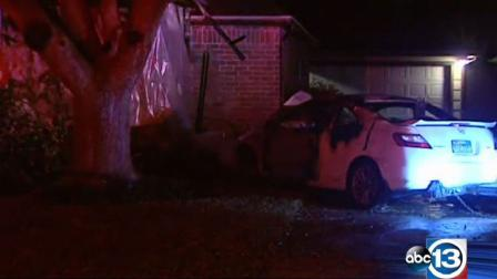 Car into home