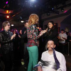 Concrete Kitchen Table Pull Down Faucet Nicole Kidman Gets Naughty On Matt Damon-hijacked 'jimmy ...