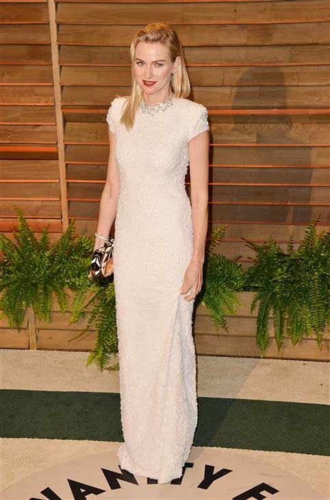 Naomi Watts appears at the 2014 Vanity Fair Oscar party in Los Angeles, California on March 2, 2014.