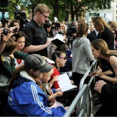 Concrete Kitchen Table Rent To Own Homes In Kitchener Angelina Jolie, Brad Pitt, Kids Attend 'world War Z ...