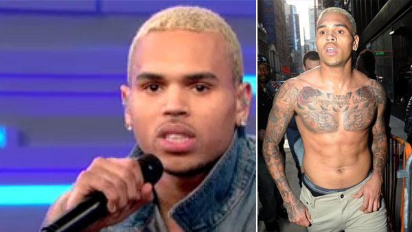 Chris Brown appears on GMA on March 22, 2011. - Provided courtesy of ABC / Splash News