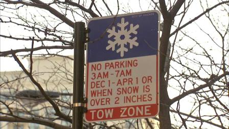 Chicagos winter overnight parking ban goes into effect Sunday morning, December 1.
