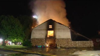 Fire at True Prospect Farm