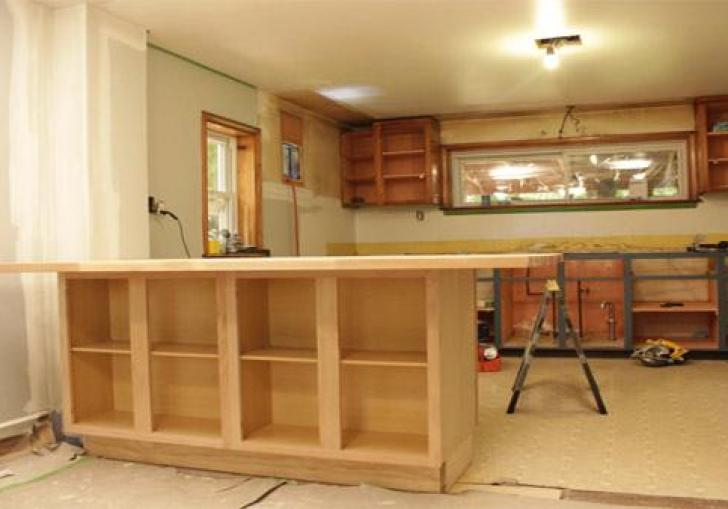 Diy Kitchen Island Using Cabinets