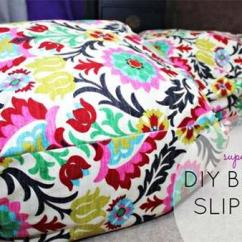 Bean Bag Chair Cost Side Tables With Storage How To Make Slip Cover For | Knock It Off! The Live Well Network