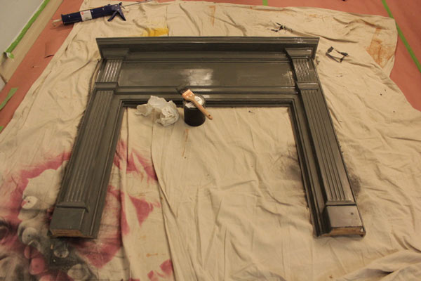Photos DIY Faux Fireplace  Knock It Off  The Live Well Network