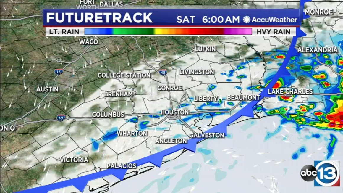 Storms possible overnight, then sunshine returns Saturday