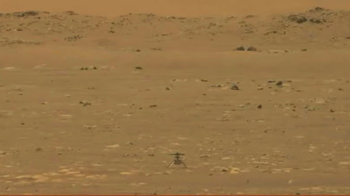 Mars helicopter Ingenuity successfully completed its historic first flight