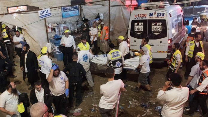Israeli medic: Nearly 40 people killed in stampede at religious festival