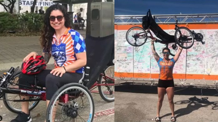 Houston woman with multiple sclerosis says she's determined to stay fit