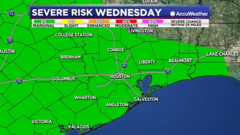 The threat for heavy rain and flooding is increasing