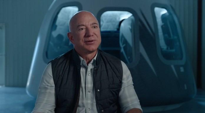 Jeff Bezos going into space aboard Blue Origin flight July 20