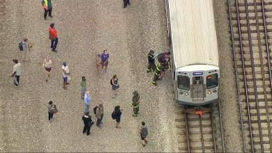 Chicago Red Line train derailment near Bryn Mawr leads to CTA service suspension north of Belmont
