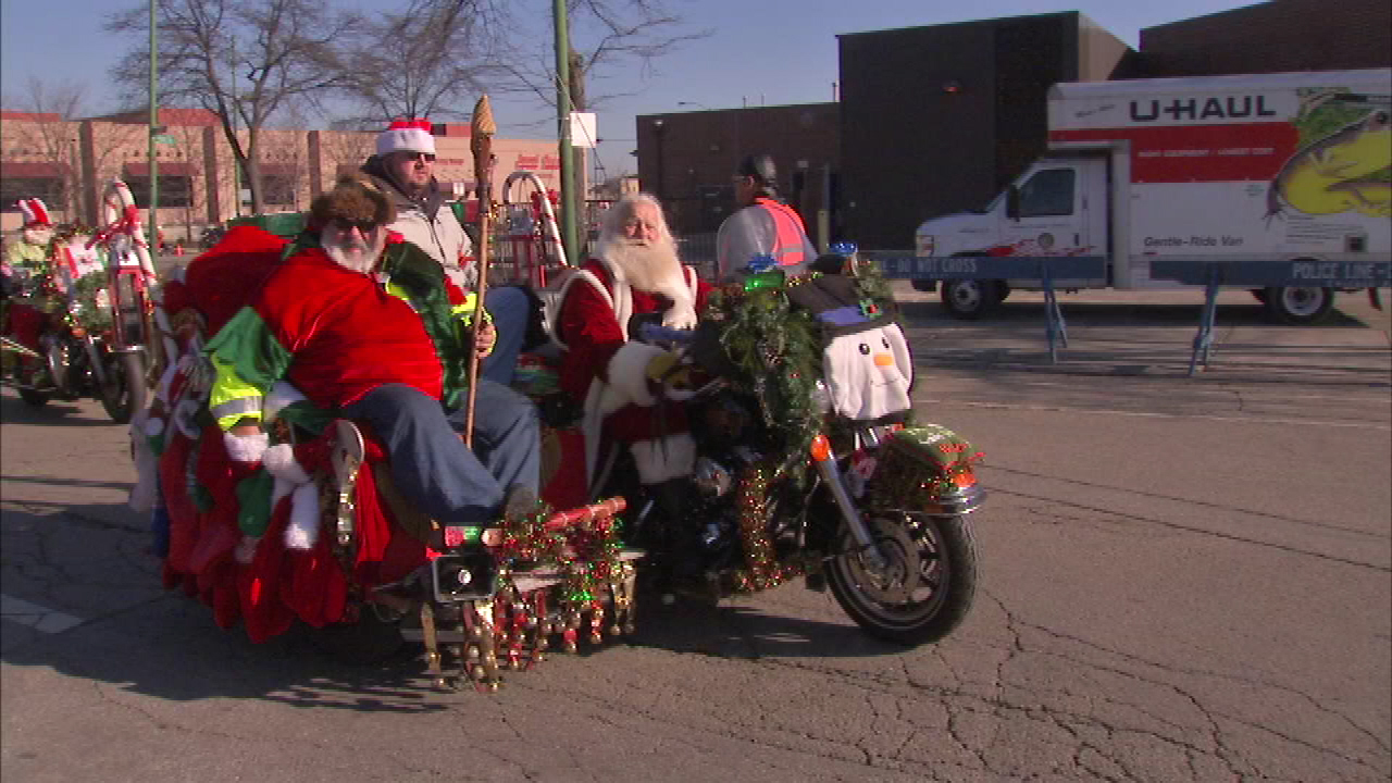 Toys For Tots Motorcycle Parade Rumbles Through N Side