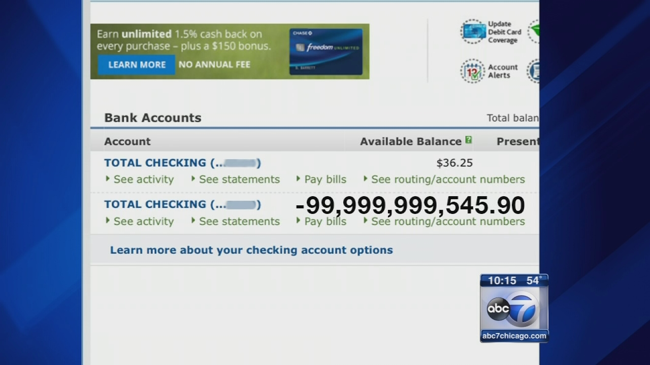 Dead Woman S Bank Account Overdrawn By 99 Billion Abc7 Chicago
